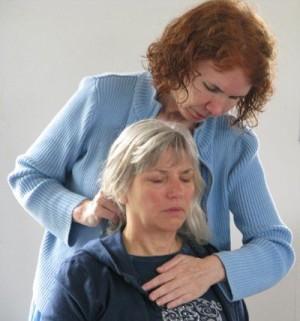 Cielle and Pamela healing