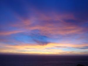Sunset sky small